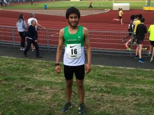 Bikram Singh Smashes Personal Best