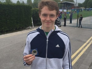 Jack Smashes PB at Schools Champs