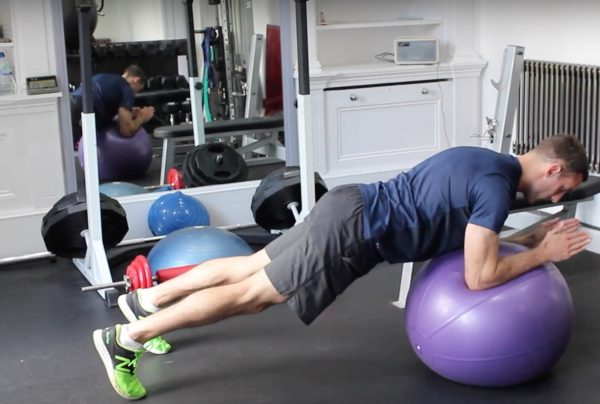 Fat Burning Stability Ball Workout Two