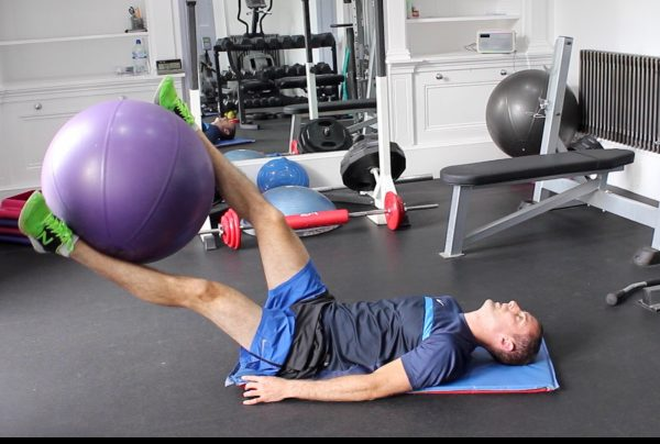 Swiss Ball Lower Body Workout – Endurance