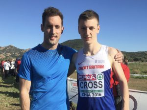 Cross makes Great Britain Debut