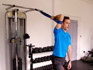 Upper Body Static Stretches